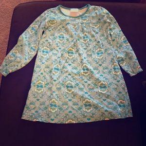 Hanna Andersson blue long sleeve dress